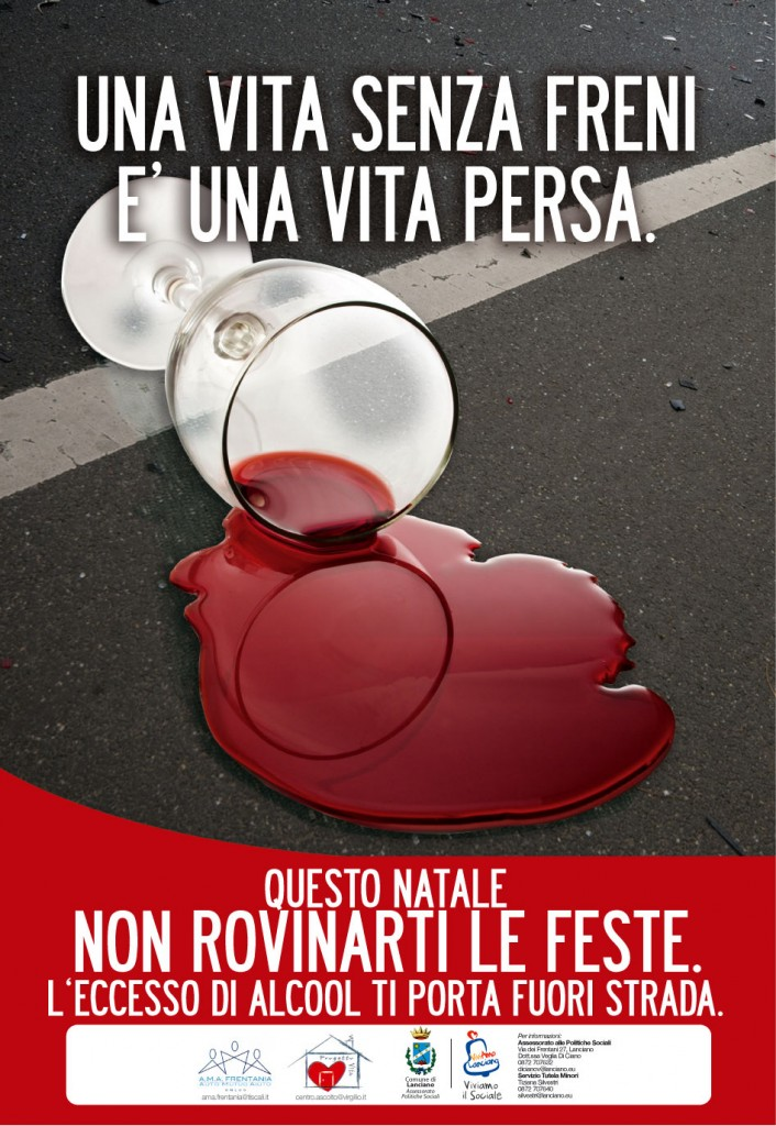 Campagna contro l'abuso di alcool a Lanciano